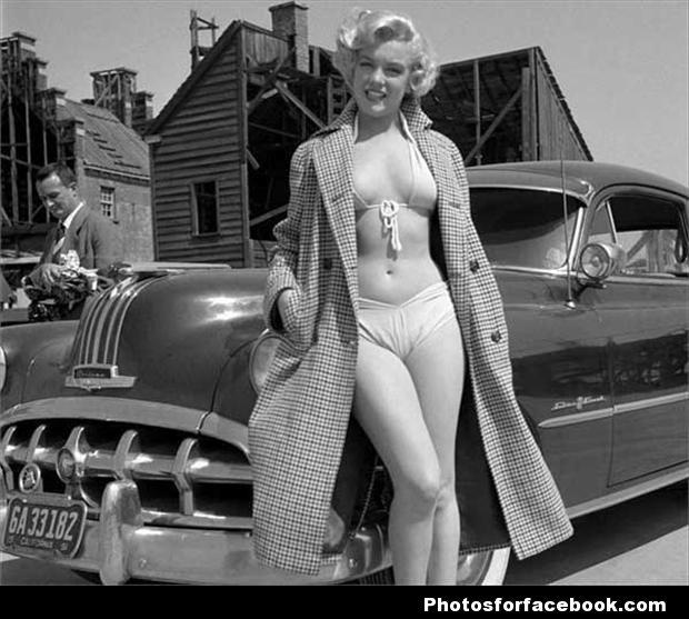 marilyn-monroe-car-model